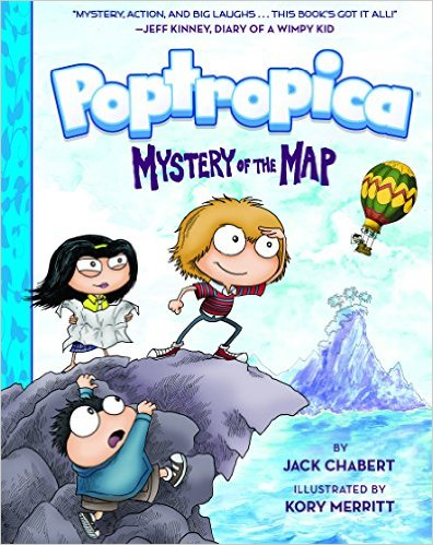 Poptropica (Book 1): Mystery of the Map