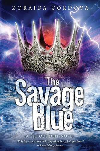 Savage Blue: Vicious Deep Series (Book 2)