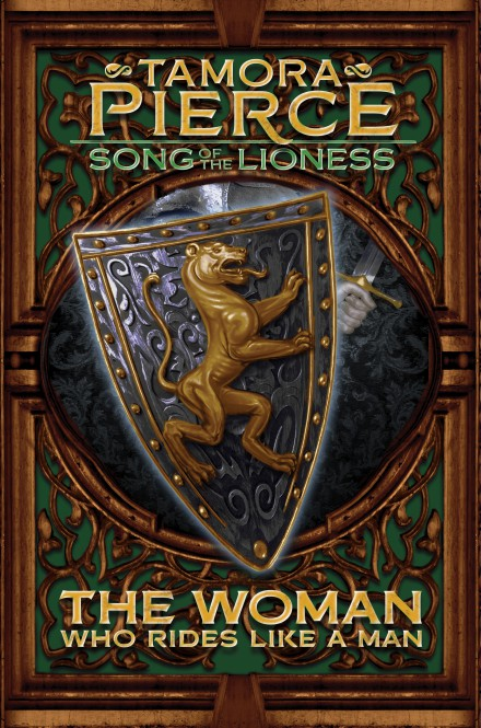 The Woman Who Rides Like a Man: The Song of the Lioness (Book 3)