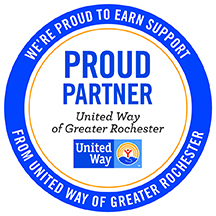United Way of Greater Rochester Partner Seal